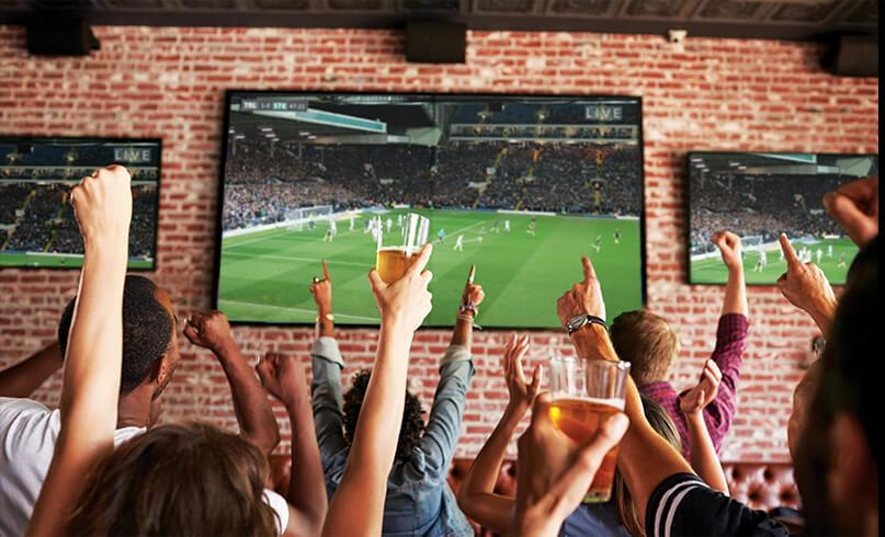 Sports TV for Business from New Dimension Electronics